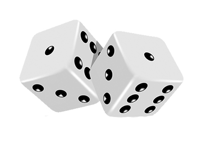 Two 3D Dice.